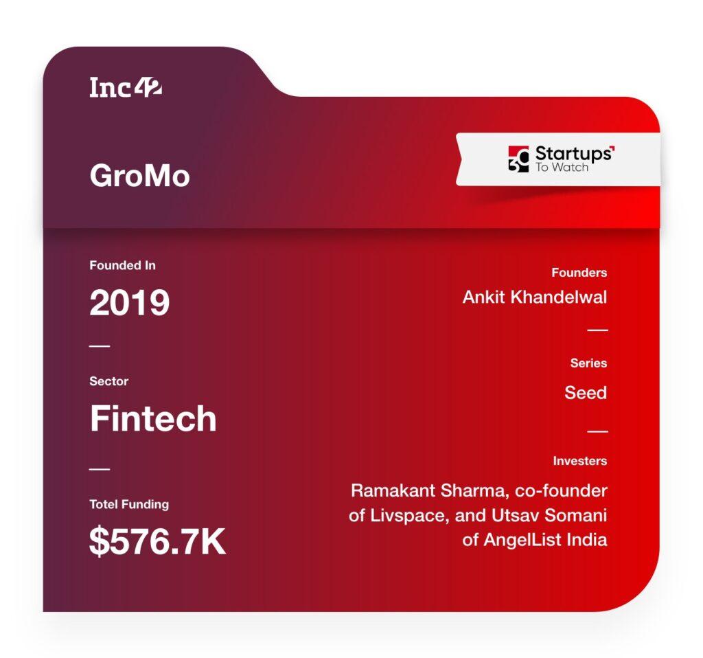 GroMo fintech startup