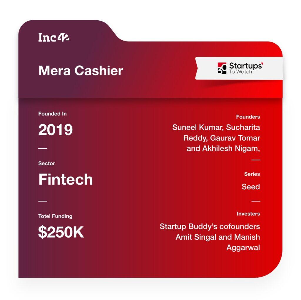 Mera Cashier fintech startup