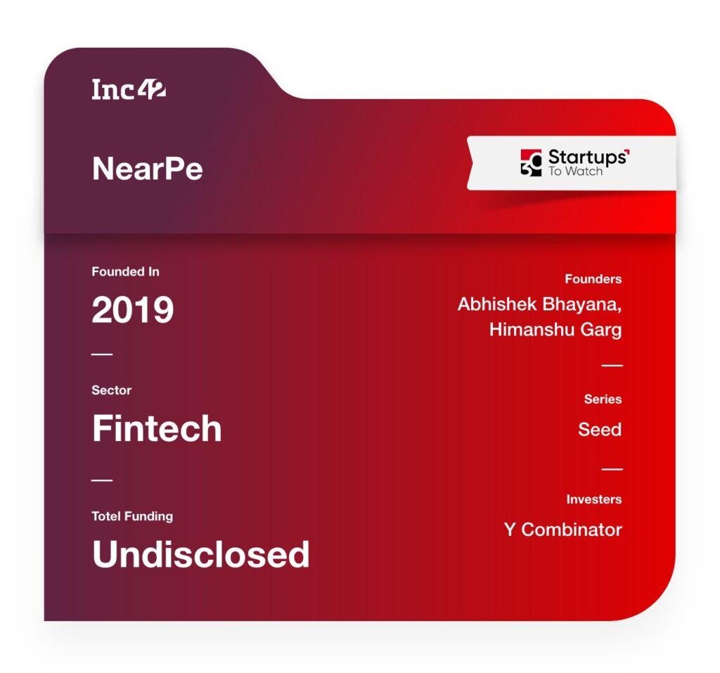 NearPe fintech startup