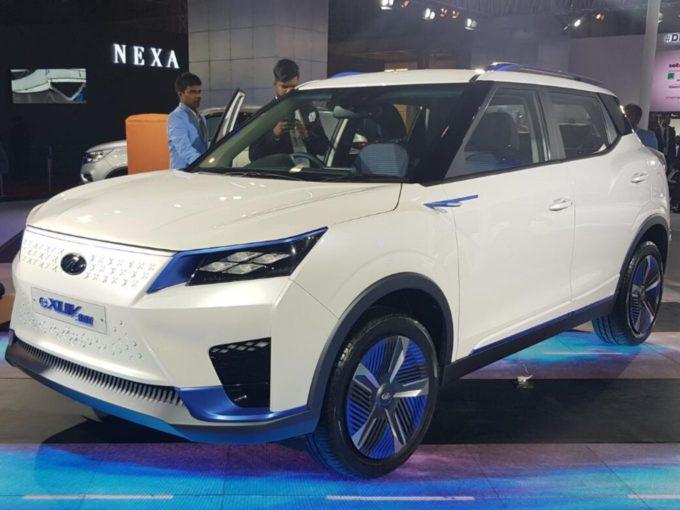 Auto Expo 2020: Mahindra eKUV100 Electric SUV Launched