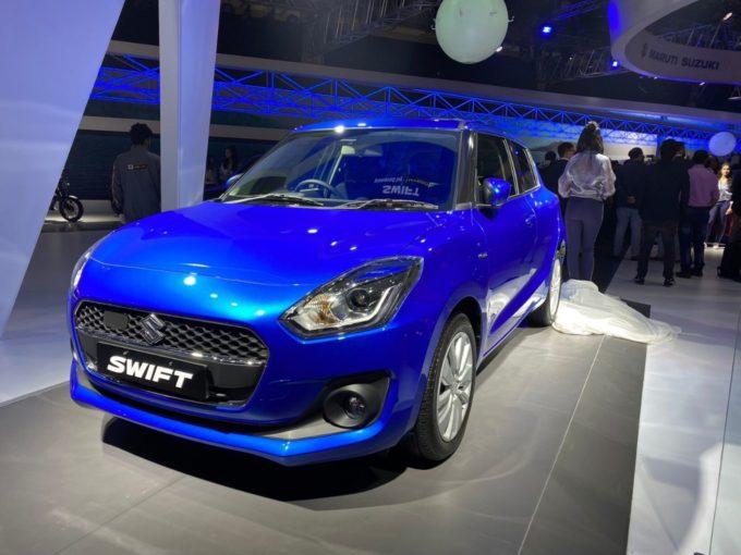 Maruti Suzuki Unveils Hybrid Version Of Popular Swift Hatchback