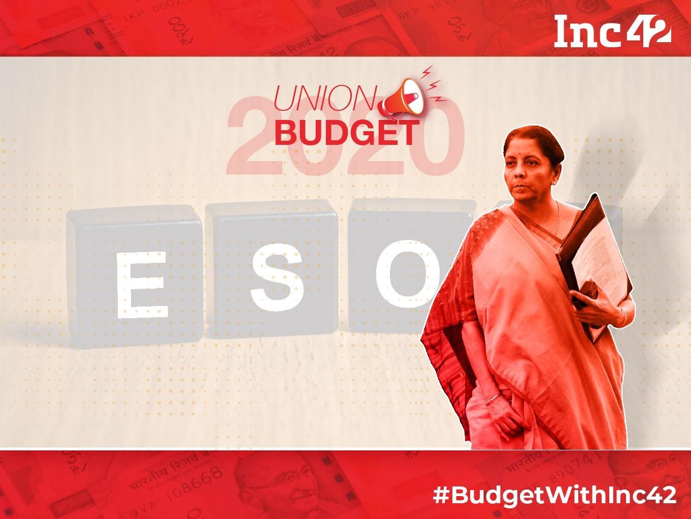 ESOP Tax Budget 2020