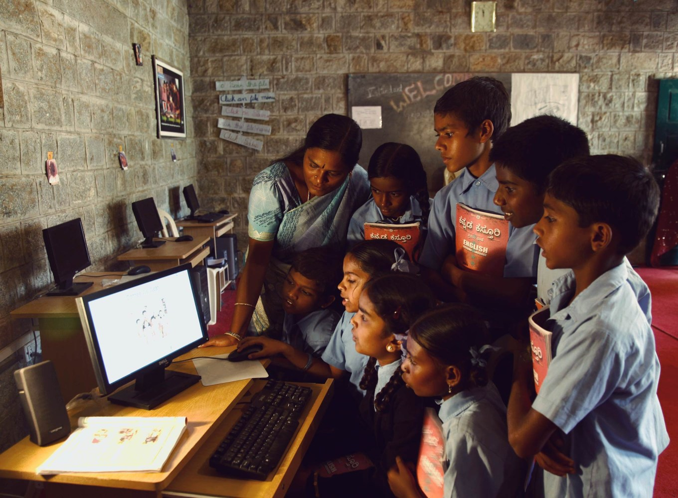 Will technology erase learning barriers in rural India?