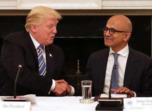 Satya Nadella, Donald Trump Land In India Today For High-Profile Visits
