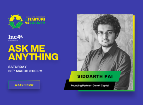 AMA With Siddharth Pai