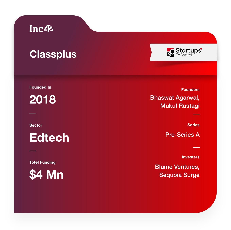 30 Startups To Watch: Classplus