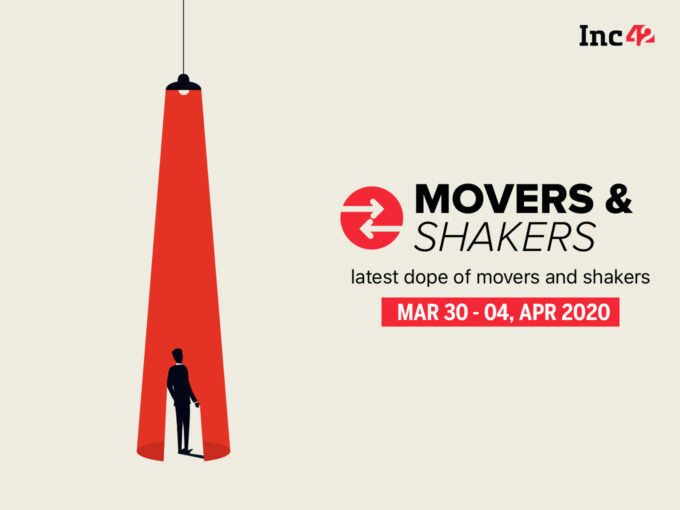 Important Movers and Shakers Of The Week [March 30- 4 April]