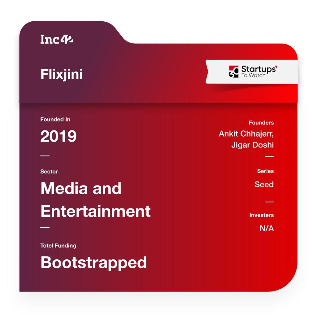 30 Startups To Watch: Flixjini