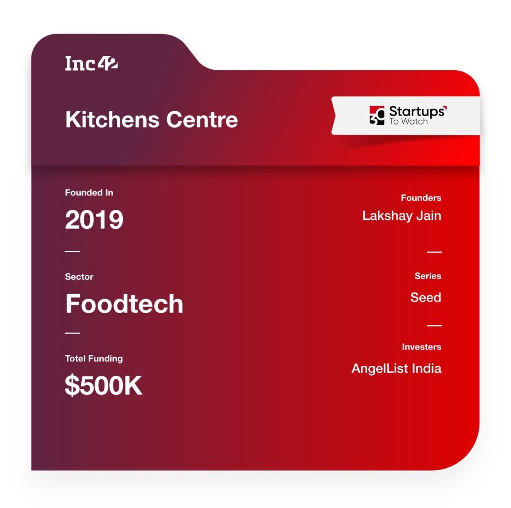 30 Startups To Watch: kitchens centre