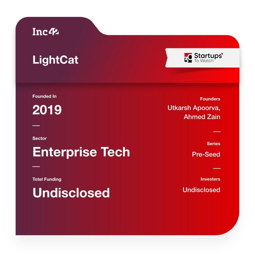 30 Startups To Watch: lightcat