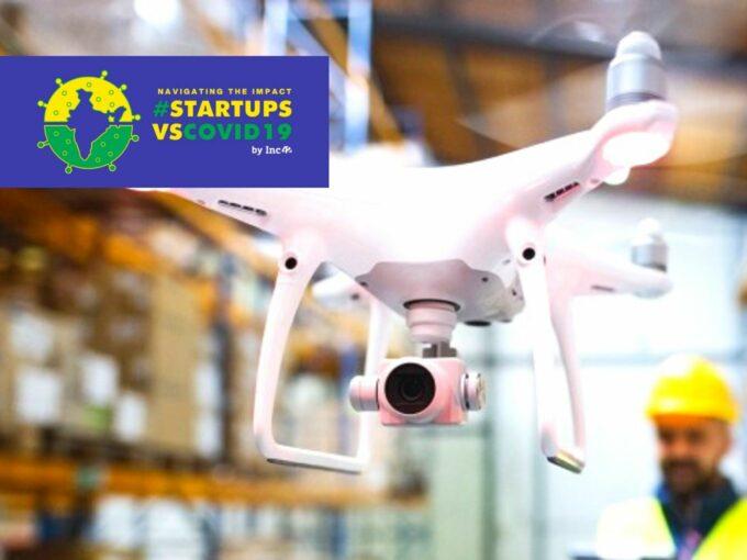 #StartupsVsCovid19: Will The Future Of B2B & B2C Logistics Be Driven By Drones?