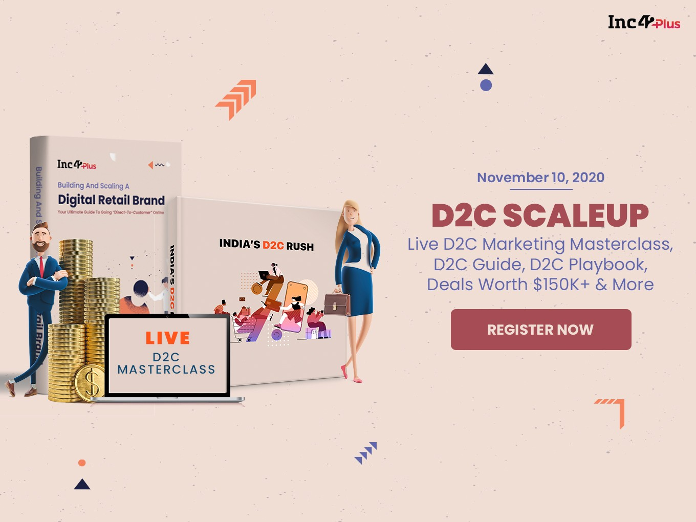 D2C SCALEUP Masterclass: Demystifying D2C Marketing For India's Retail Brands
