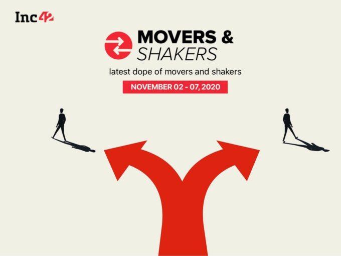 Movers And Shakers Of The Week [November 2-November 7]