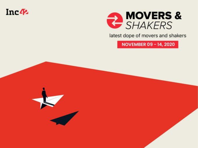 Movers And Shakers Of The Week [November 9-November 14]