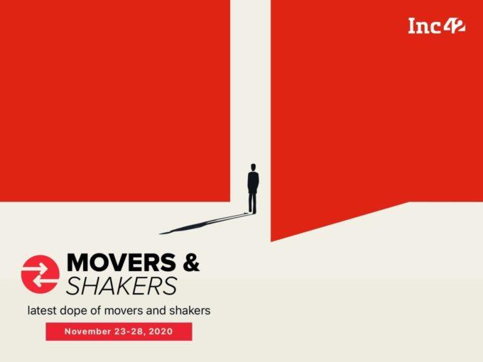 Movers And Shakers Of The Week [November 23-November 28]