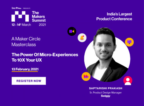 "Register For The Masterclass On ""The Power Of Micro-Experiences To 10X Your UX"""