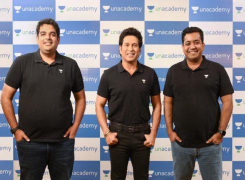 Unacademy Ropes In Sachin Tendulkar As Investor, Brand Ambassador