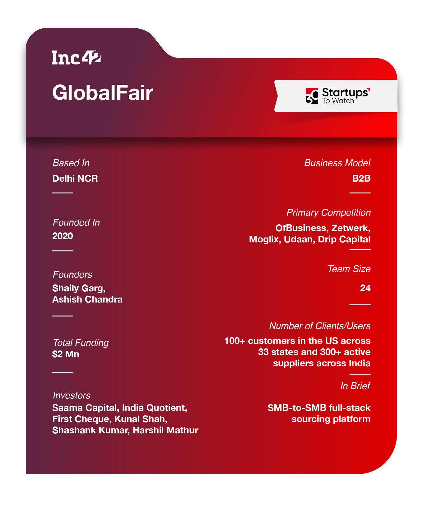 GLobalFair Factsheet