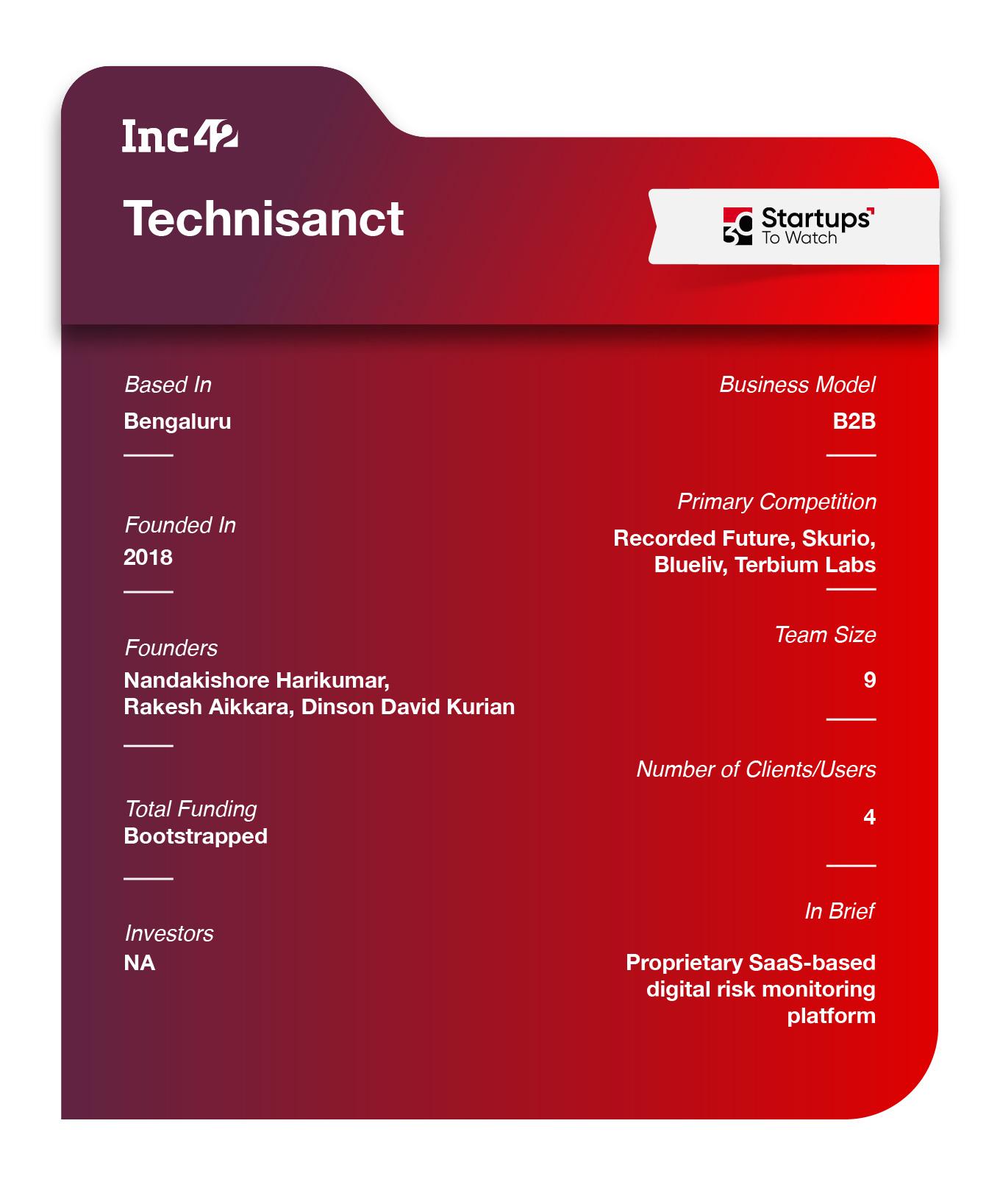 Technisanct factsheet