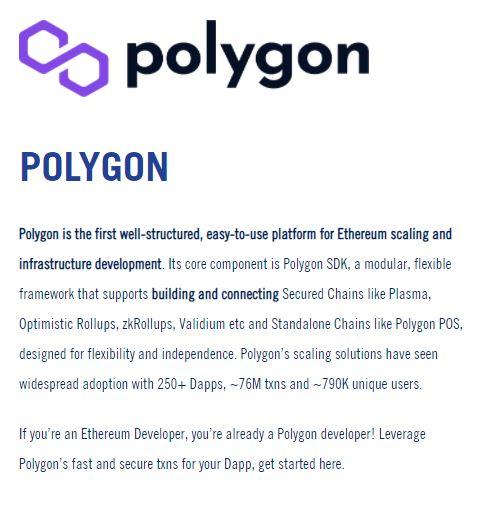 Mark Cuban About Polygon