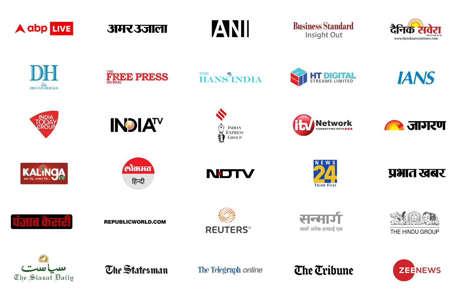 Google News Indian Publications