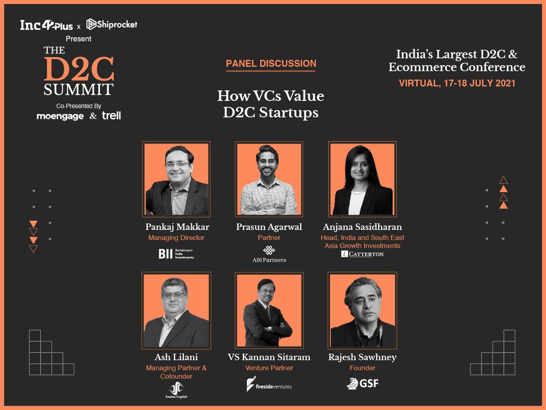 How VCs Value D2C Startups