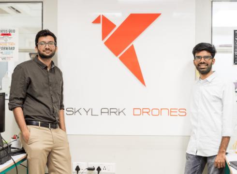 Skylark Drones Raises $3 Mn Funding Led By InfoEdge Ventures, IAN Fund