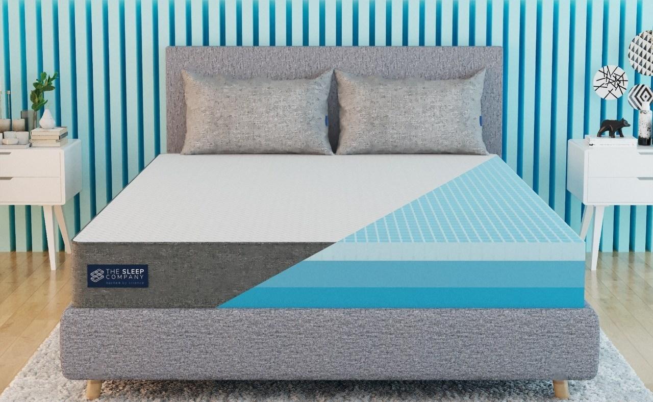 the sleep company's smartgrid mattress