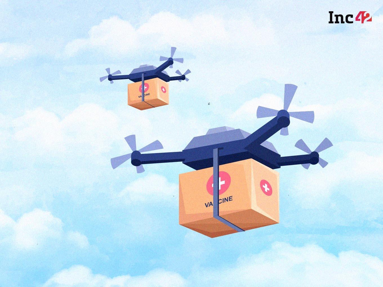 Dunzo Digital & Skye Air To Begin Vaccine Delivery By Drones In Telangana