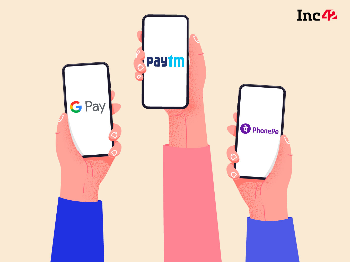 PhonePe, Google Pay Record 80% of Total UPI Transactions In September 2021; WhatsApp Pay Records 2x Growth