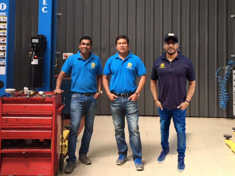 (L-R) Mridu Das_Founder and CEO, Chinmay Baruah, Co-Founder, Raman Sambu, Co-Founder & CBO