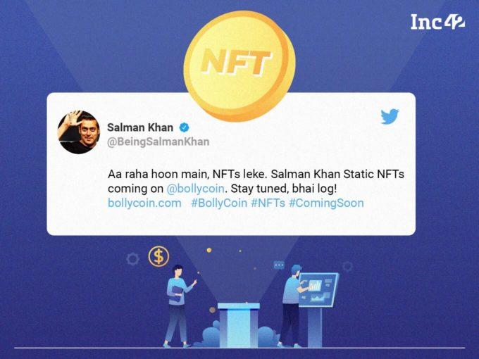 Bollywood Actor Salman Khan Joins The NFT Bandwagon