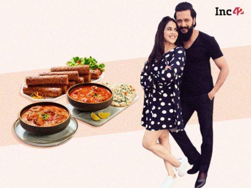 Bollywood Couple Genelia and Riteish Deshmukh Unite Taste & Veganism With D2C Venture Imagine Meats