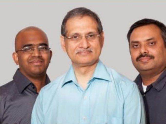 From L to R Chaitanya Chokkareddy, Chief Innovation Officer, CSN Murthy, Founder & CEO, Atul Sharma, Co-Founder & CTO
