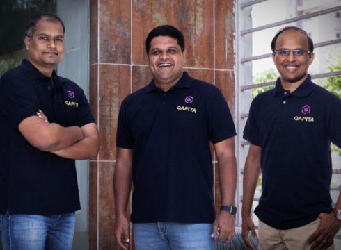 From L to R - Vamsee Mohan, Ravi Ravulaparthi, Lakshman Gupta